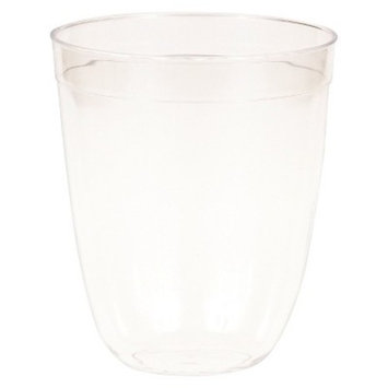 16ct Disposable Double Old-Fashioned Glass