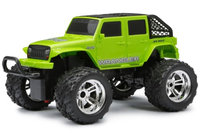 New Bright 1:16 RC Chargers 4-door Jeep - Green