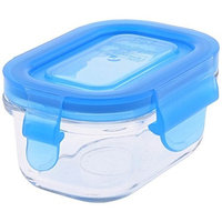 Wean Green Glass Baby Food Storage Containers, Wean Tub 5 ounces, Blueberry