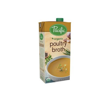 Pacific Foods Organic Poultry Broth, 32-Ounces