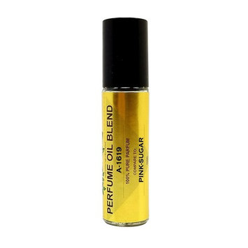 Perfume Studio IMPRESSION Perfume Oil Blend A-1619. Use for Personal Beauty, Home Made Bath & Body Products and Candle Making; Glass Roll On (Pink_Sugar-10ml)