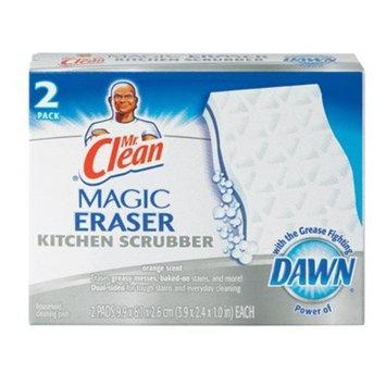 PGC47546 - Mr. Clean Magic Eraser Kitchen Scrubber, Unscented, 2 Pads/box