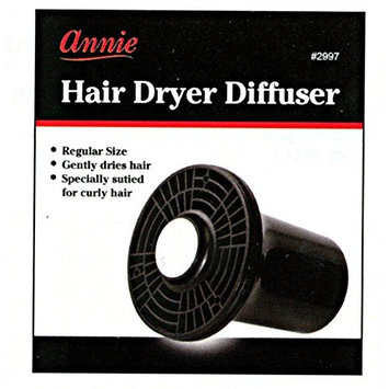 [Pack of 1] Annie Hair Dryer Air Diffuser - Regular Size #2997: Beauty