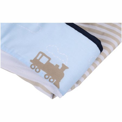 Triboro Quiilt Manufacturing Corporation Child of Mine by Carter's Transportation Fresh Air Crib Liner
