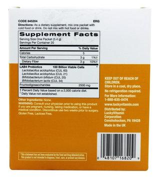 LuckyVitamin - Probiotic Multi Strain 100 Billion Unflavored - 20 Packet(s)