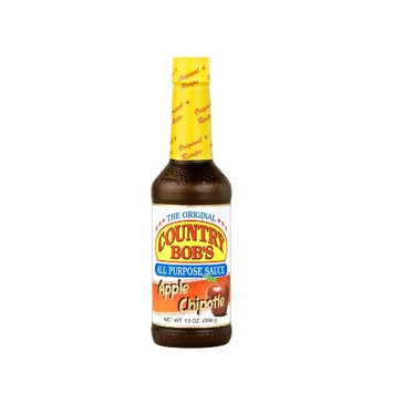 Country Bob's Apple Chipotle All Purpose Steak Sauce, 13 Ounce (Pack of 6)