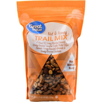 Wal-mart Stores, Inc. Great Value Nut & Honey Trail Mix, 26 oz