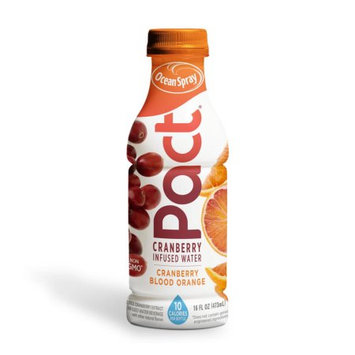 Ocean Spray PACt Water, Cranberry Blood Orange, 16 Fl Oz, 12 Count