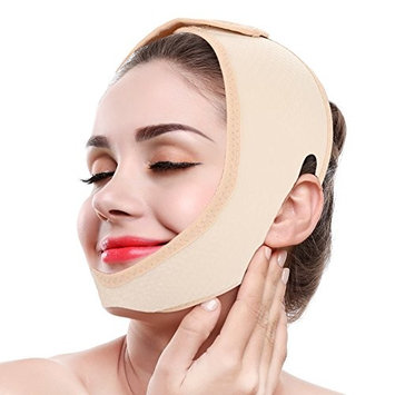 V Line Mask, Face Lift Band Facial Slimming Double Chin Strap Weight Loss Belts Skin Care Chin Lifting Firming Wrap