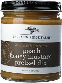 Terrapin Ridge Farms 9039 Peach Honey Mustard Pretzel Dip Pack of 3
