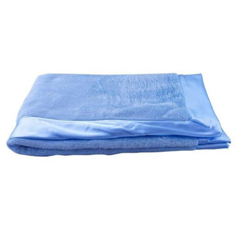 Blue Baby Bum 710560426591 Luxurious Classic Baby Blanket One Size - Blue