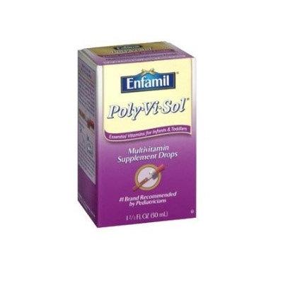 Polyvisol Poly Vi Sol Pediatric Multivitamin Supplement