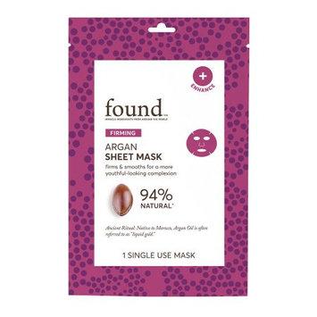 Hatchbeauty Products FOUND FIRMING Argan Sheet Mask, 1 Single Use Mask