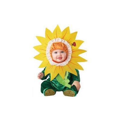 Incharactercostumes Silly Sunflower Costume - Size: 6-12 Months