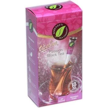 Serengeti Tea Passion Black Tea Box with 18 Tea Sticks [Passion Black]