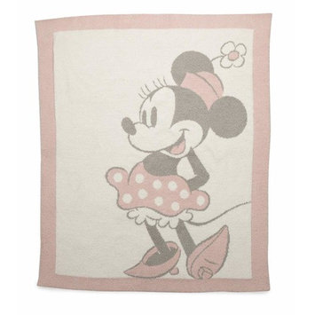 Barefoot Dreams CozyChic Vintage Disney Minnie Mouse Baby Blanket, Size 32