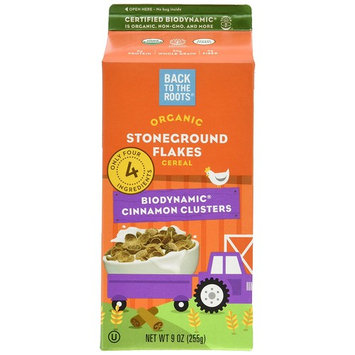 Back to The Roots Organic Cinnamon Cluster Cereal, 9 Ounce