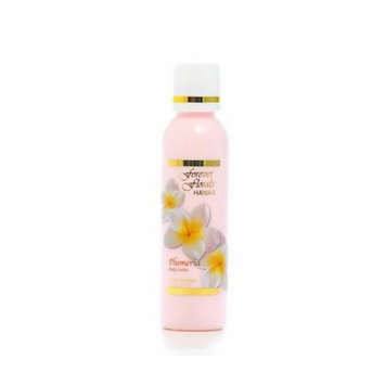 Plumeria Body Lotion 1 Bottle 4oz Forever Florals Hawaii and 1 Bar of Noni Maile Lavender Face & Body Soap and 1 Tube of Noni Maile Lavender Body Lotion by Forever Florals