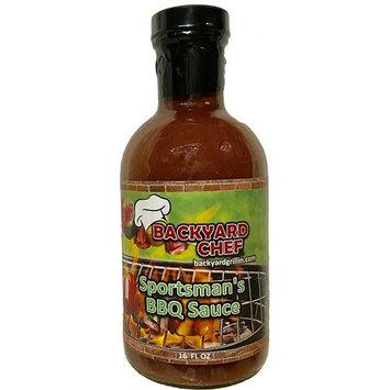 Backyard Chef, Sportsman's BBQ Sauce, 22 oz.