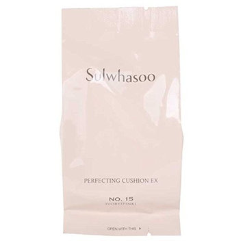 Sulwhasoo Perfecting Cushion SPF50+/PA+++ Refill #15 Ivory Pink Refill Only