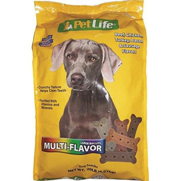 Triumph Dog Biscuits - Multi Flavored - Large/20 LB