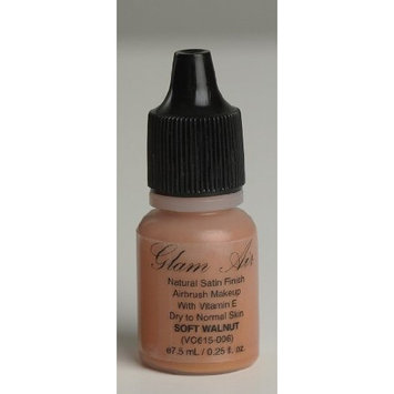 Glam Air Airbrush M13 Soft Walnut Matte Foundation Water-based Makeup (Ideal for Normal to Oily Skin)