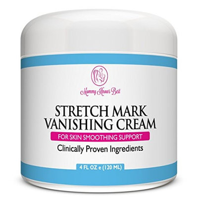 Mommy Knows Best Stretch Mark Removal Vanishing Cream - Remove Stretch Marks From Pregnancy - Clinically Proven Prevention Lotion Therapy