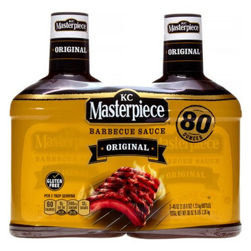 KC Masterpiece Original BBQ Sauce - 40 oz. - 2 ct.