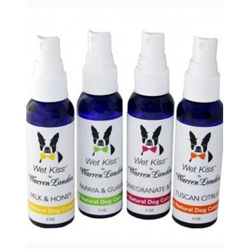 Warren London Wet Kiss Fragrance for Dogs, Milk and Honey, 2oz