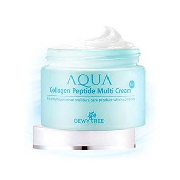 [DEWYTREE] Aqua Collagen Peptide Multi Cream 1.69Fl Oz, 50ml / Made In Korea : Beauty