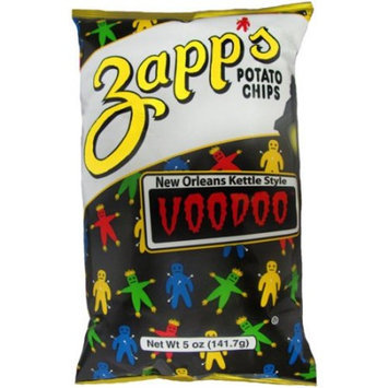 Zapp's New Orleans Kettle Style Voodoo Potato Chips, 5 oz