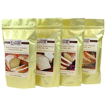 The Prepared Pantry Easy Homemade Bread Mix Collection, 75.24 oz