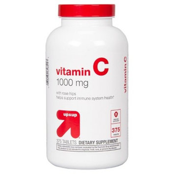 Vitamin C w/ Rose Hips Dietary Supplement Tablets - 375ct - up & up™