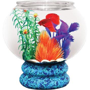 Hawkeye 1.6-Gallon Fish Bowl with Pedestal, Break-Resistant Plastic 9