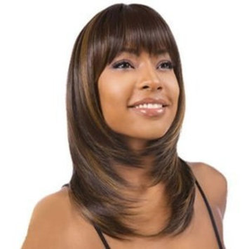 Shake-N-Go FreeTress Equal Synthetic Hair Wig - Hera #1b Off Black