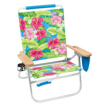 Rio Brands RIO Easy In-Easy Out 4-Position Beach Chair