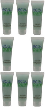 Eco Pure Hydrating Conditioner Lot of 8 each 1oz Bottles. oz (Pack of 8)