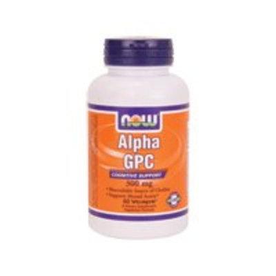 NOW Alpha GPC 300 mg,60 Veg Capsules