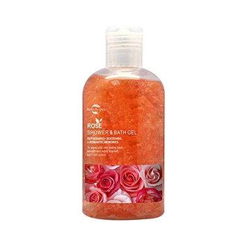 Huini Beauty Shop Rose Shower & Bath Gel for all skin types, 300ml/10.58oz