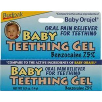 Babyganics Single-Use Teething Gel Pods - 10 CT
