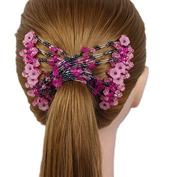 cuhair 1pc Crystal Flower Style Hair Comb Clip Barrette Pin Accessories For Women Lady Girl