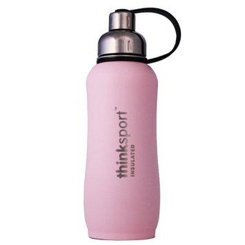 Thinksport Insulated Sports Bottle, Coated Light Pink, 25 Oz (750ml)