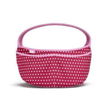 Built Baby Buddy Essentials Caddy, In Baby Pink Mini Dots
