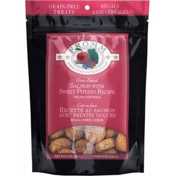 Fromm Four Star Nutrionals Fromm Four-Star Grain-Free Treats for Dogs, Salmon with Sweet Potato, 8 oz