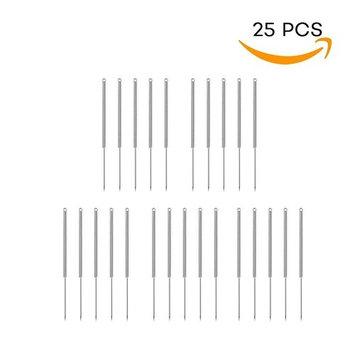 Needles for Plasma Pen Dot Mole Removal /Mole Tattoo Remover Pen Portable Dot Removal Kit 25 pcs: Beauty