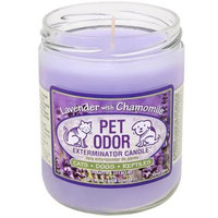 Pet Odor Exterminator Candle [Options : Lavender with Chamomile Jar (13 oz)]