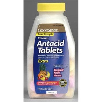 Good Sense Regular Strength Calcium Antacid Tablets Fruit