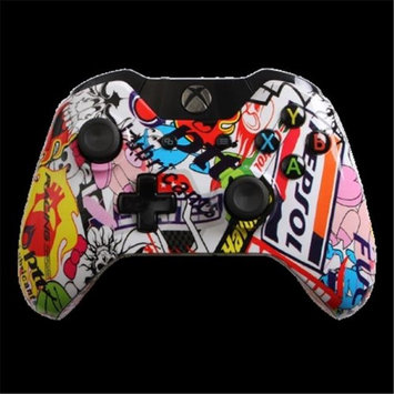 Evil Controllers X1iSBC Sticker Bomb Custom Xbox One Controller