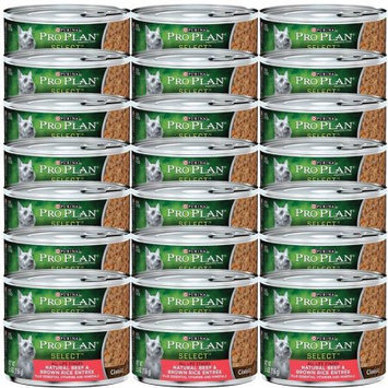 Nestle Purina Petcare 381284 Pp Select Dog Beef-Brown Rice 24-5.5 Oz. Pack of 24