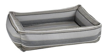 Bowsers Pet Products Bowsers Urban Lounger Pet Bed Boardwalk Stripe, Size: Large